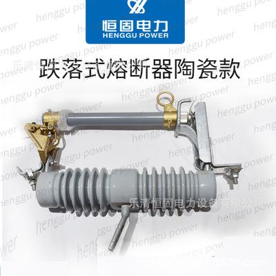 品质优质令克开关高压跌落式熔断器HRW12-10/100A陶瓷款跌落保险