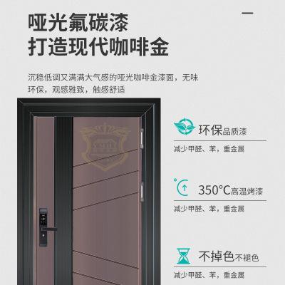 厂家直销韩式门 平开门批发 定制家居室内门不锈钢防盗门入户大门