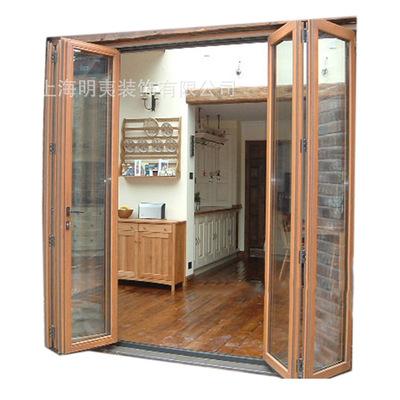 批发门窗厂家 时尚大气高品质铝合金门窗 防潮防雨折叠窗