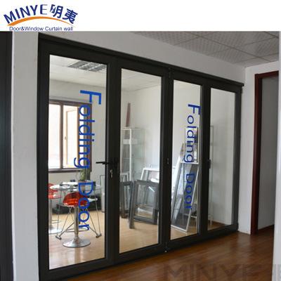 上海产地货源 厂家直销 定制手动铝合金折叠门 高品质热销折叠门