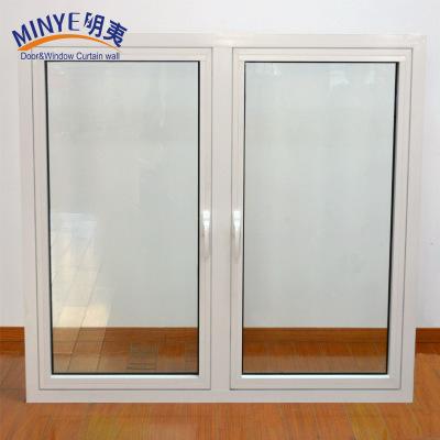 铝合金50系列平开窗 隔音隔热封阳台平开窗 上海厂家窗户批发
