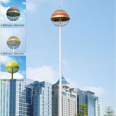 自动升降式高杆灯 18米20米25米28米32米大型停车场广场高杆灯