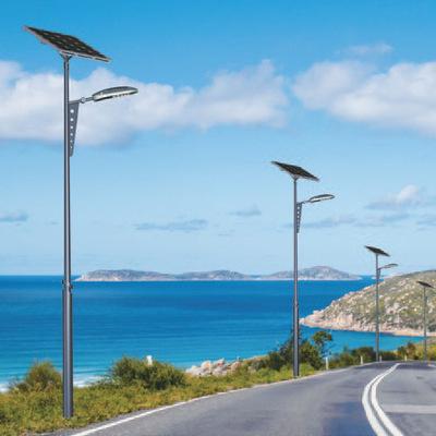 宝德供应新农村6米30W/7米/8米锂电池太阳能路灯 一事一议项目