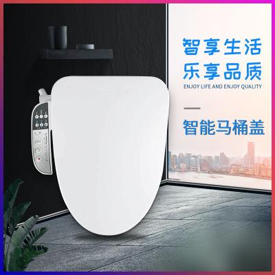 亚马逊即热式坐便盖板 座圈加热恒温带移动清洗多功能智能马桶盖