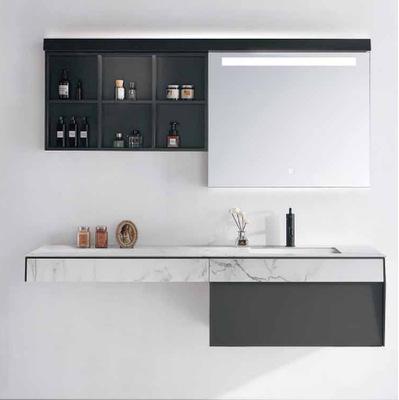 佛山岩板浴室柜 现代轻奢智能浴室柜 卫生间智能卫浴柜DP-1902