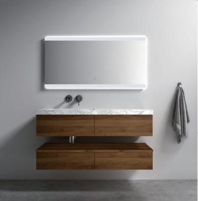 生产厂家可定制轻奢实木浴室柜 LED智能浴镜组合浴室柜DP-3009