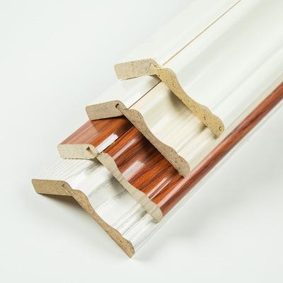 厂家生产各种科技木线条科技木皮装饰封边线墙角线顶棚线地脚线