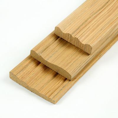 厂家直销供应各种科技木方木线条木皮 生态板配套线条等质量保证