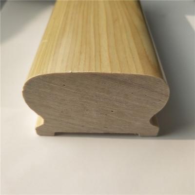 别墅工程实木扶手室内楼梯护栏木质楼梯扶手栏杆栈道扶手楼梯配件