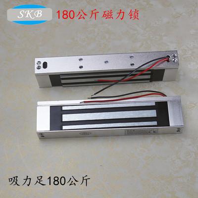 上海供应180公斤磁力锁 门禁系统 180KG电磁锁 明挂式安装吸力足