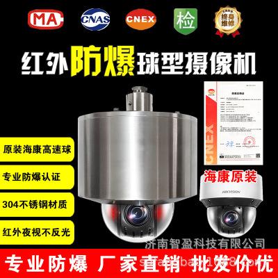 防爆球型摄像机HIK原装机芯网络红外夜视一体化云台监控防爆球机