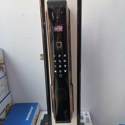 全自动手机抓拍指纹锁联网远程看语音对讲监听密码锁手机APP开锁