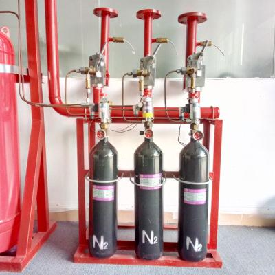 厂家批发七氟丙烷瓶组灭火器 管网七氟丙烷药剂充装维保