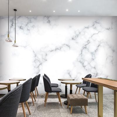 3D大理石纹墙纸北欧ins风8d电视背景墙壁纸简约装饰客厅大型壁画
