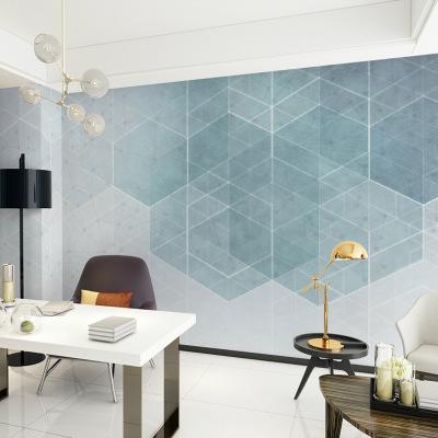 影视墙客厅电视背景墙装饰5D立体墙纸3D壁画现代简约大气清新壁纸