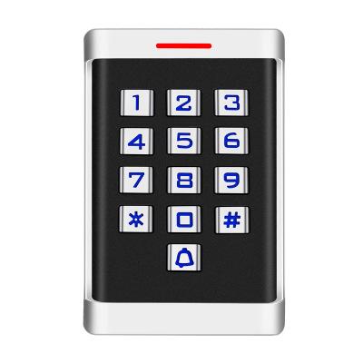 金属门禁一体机室外防水机防雨ID刷卡密码一体机电子门禁系统