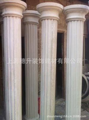 (厂家直供) 玻璃钢罗马柱 树脂罗马柱 订做展览道具