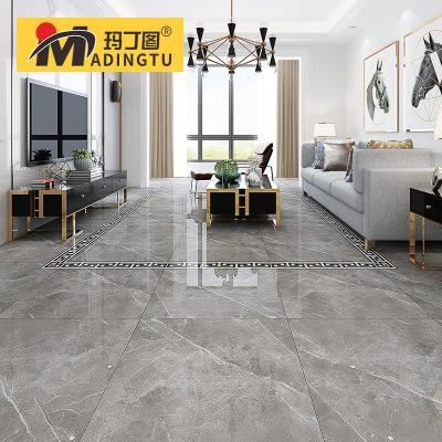 玛丁图 负离子通体大理石瓷砖地砖800x800客厅加厚13.5MM地板砖