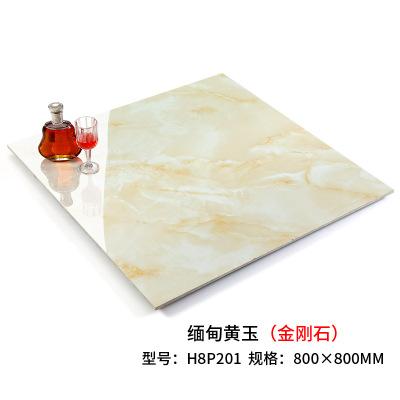 玛丁图 金刚石瓷砖地砖800*800仿大理石客厅防滑地板砖背景墙磁砖