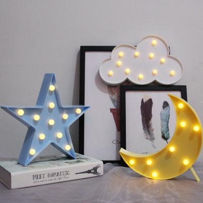 ins造型灯led彩灯夜市地摊灯台灯创意装饰圣诞节生日礼物浪漫婚庆