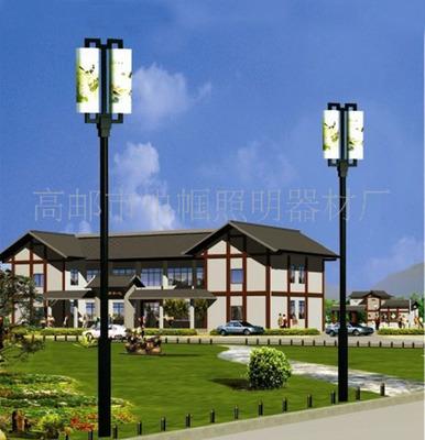 定做4米庭院灯 整体热镀锌喷塑庭院灯具 30年不生锈
