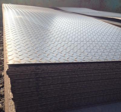 现货供应Q235B热轧花纹板Q345花纹板低合金花纹板热轧卷板中厚板