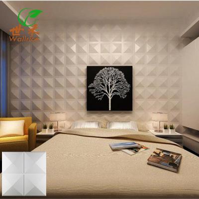 3D欧式三维四尖钻艺术立体凹凸墙板客厅卧室床头电视背景30*30