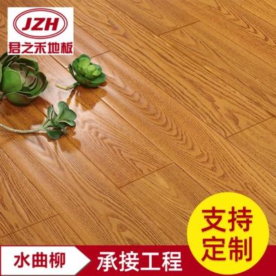 大量销售 705+703+11水曲柳仿古地板 实木户外地板订制