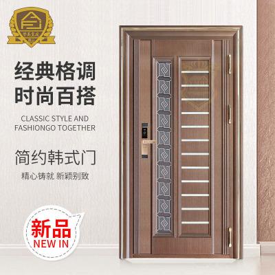 工厂定制韩式门 平开门批发 定制家居室内门 不锈钢防盗门进户门