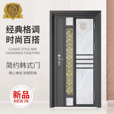厂家直销韩式门 平开门批发 定制家居室内门 不锈钢防盗门进户门