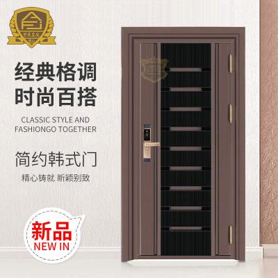 厂家直销韩式门 平开门批发 定制家居室内门 不锈钢防盗门