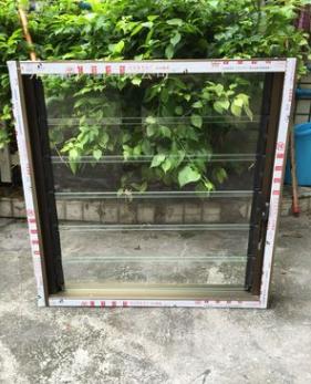 铝合金活动玻璃百叶窗 玻璃百叶