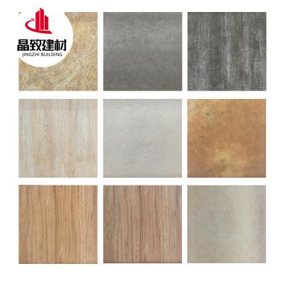 北欧风仿古砖地砖600x600纯色餐厅防滑地板砖 客厅耐磨瓷砖背景墙