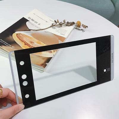 厂家精密加工1mm-16mm钢化玻璃 超白钢化玻璃CNC磨边 耐高温玻璃