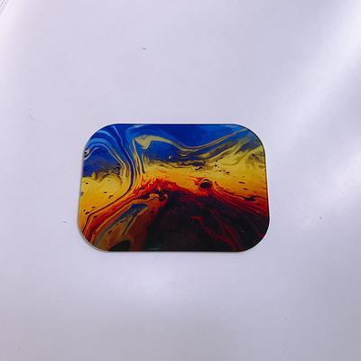 钢化玻璃装饰件 支持任何尺寸定制 图案丝印UV定制