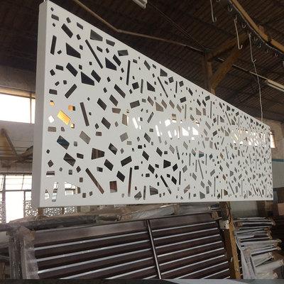 欧佰天花雕花铝单板定制各种造型铝单板 氟碳铝单板