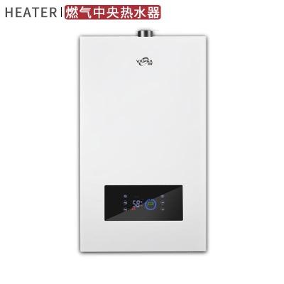 厂家直销 家用燃气热水器恒温强排储水16L零冷水别墅发廊中央热水