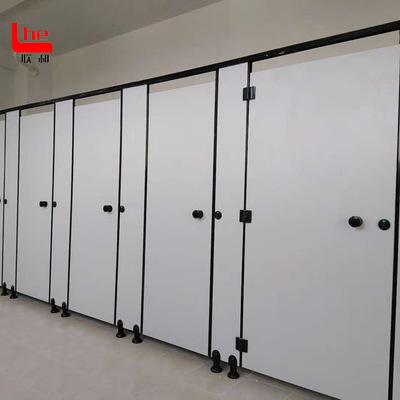 二代抗倍特板成品洗手间隔断工厂直销厕所隔断门 卫生间隔断厂家