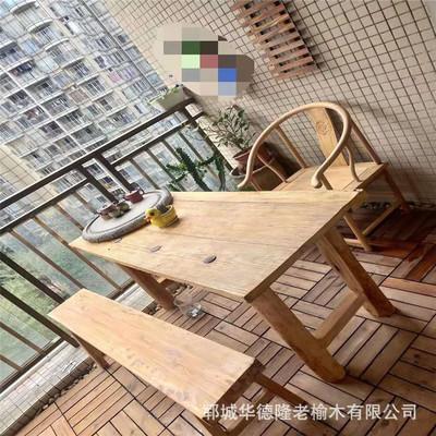 实木护墙板 实木地板 门板 老榆木门板 复古实木家具 定做款式