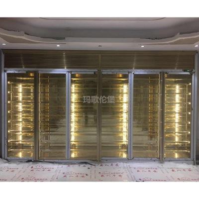 不锈钢恒温酒柜定制 红酒柜展示柜金属酒柜厂家直销