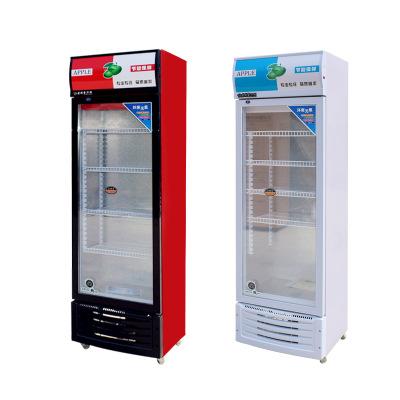 厂家批发饮料柜商用冰柜单双三门立式冰箱超市开门冷藏保鲜展示柜