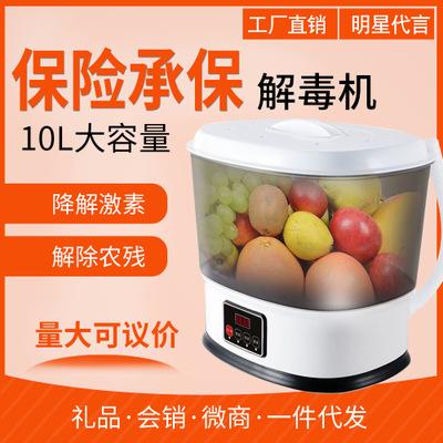 果蔬消毒机 家用臭氧果蔬清洗机多功能 食材净化器果蔬解毒机礼品