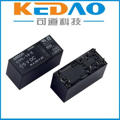 欧姆龙G5RL-K1A-E DC24V磁保持功率继电器OMRON原装正品现货特价