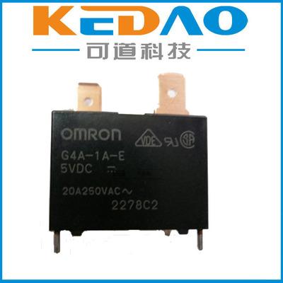 欧姆龙G4A-1A-E-CN DC12V功率继电器OMRON原装正品现货特价