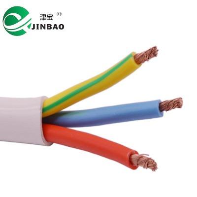 护套线 3芯线 rvv电线 3x2.5 电源线 电线 电缆 插座线 厂家批发