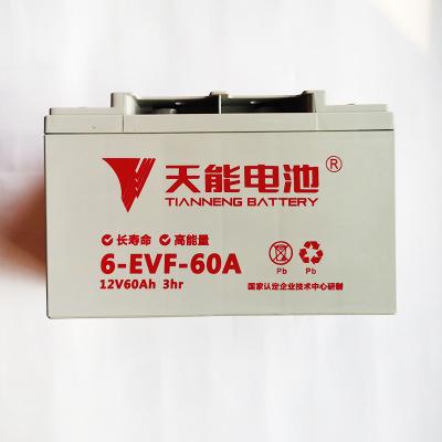 天能电池6-EVF-100电动汽车免维护大容量胶体蓄电池现货12v100AH