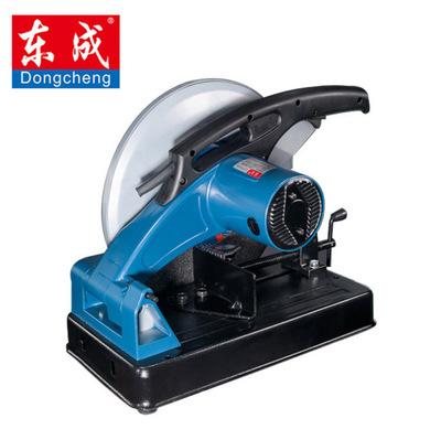 东成J1G-FF03-355型材切割机 2100W大功率355钢材切割机电动工具