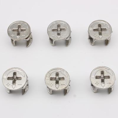 三合一紧固件锁扣偏心轮衣柜拆装连接件家具五金橱柜三合一连接件