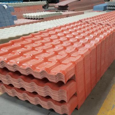 屋顶屋面瓦片ASA合成树脂瓦 仿古琉璃别墅瓦 防腐塑料瓦 厂家直销