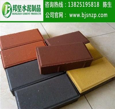 惠州、深圳、广州人行道砖、环保彩砖厂家直销,建菱砖批发